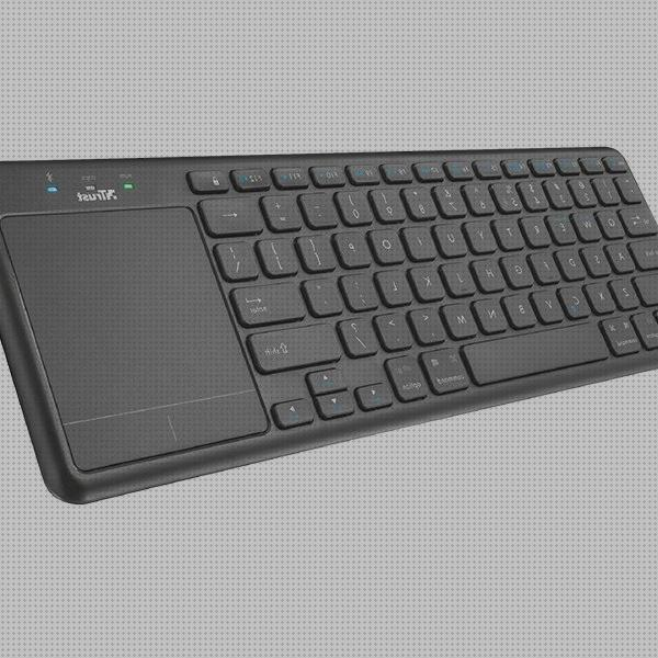 Review de wireless bluetooth teclado touchpad wireless